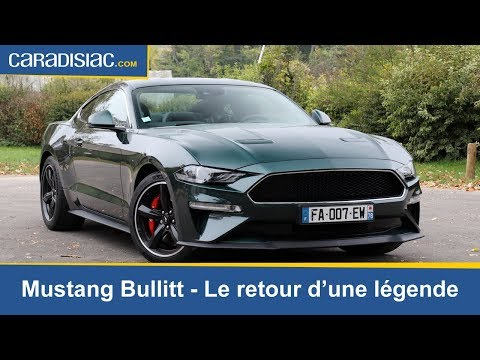 Essai - Mustang Bullitt : le retour d'une légende