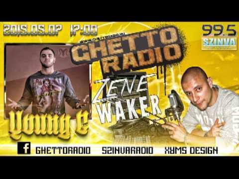 Ghetto Radio 2015 - Young G Interjú (05.07) @ Szinva Rádió Miskolc