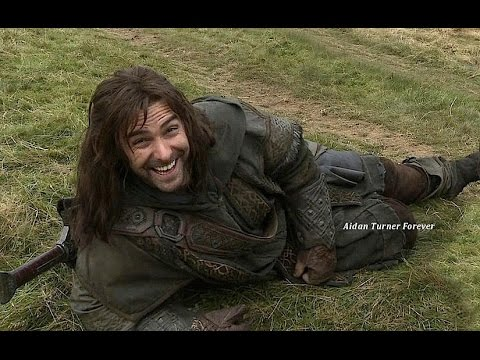 Cute L Wallpaper Aidan Turner Kili Clips From The Hobbit Dos Extended