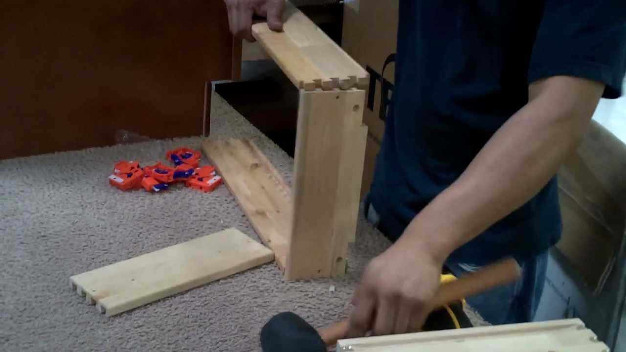 how to assemble kitchen cabinet kings u0027 drawers youtube