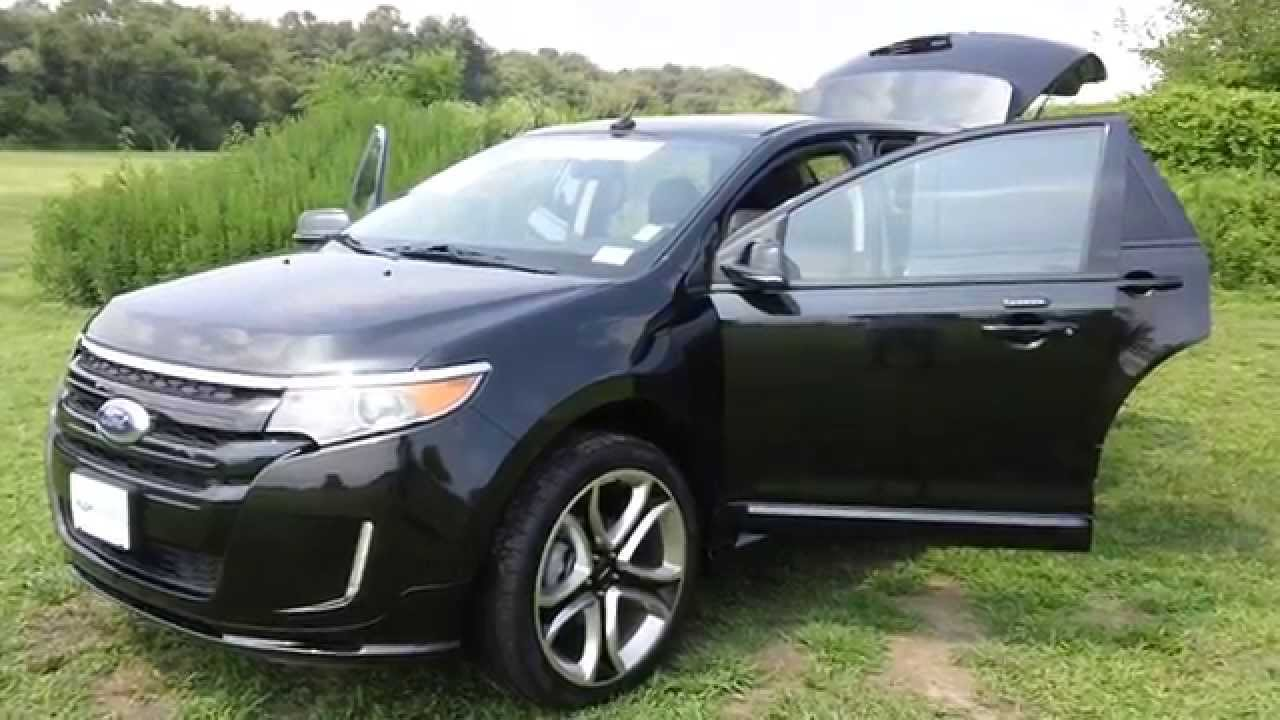 2014 ford edge sport used car for sale dx30695a youtube. Black Bedroom Furniture Sets. Home Design Ideas