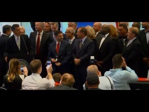 RAIDERS LAS VEGAS STADIUM:  Raw video of Nevada Gov. signing bill to fund new Raiders stadium