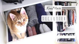 KonMari Journey    Decluttering My Wardrobe