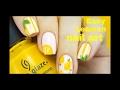 lemon nail art tutorial by nail art tutorials 4u