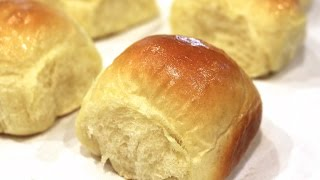 Making Old Fashioned Yeast Rolls