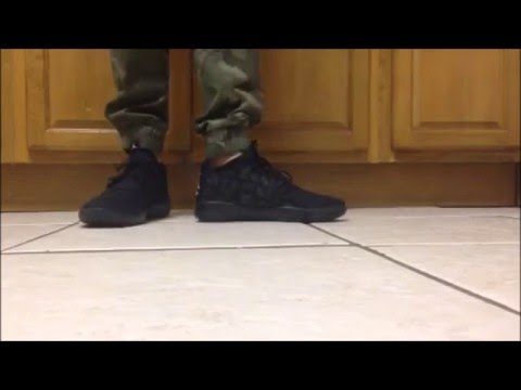 Jordan eclipse on feet [Blak/white/pure