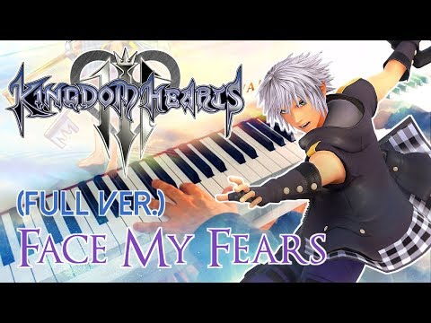 🎵 KINGDOM HEARTS III - Face My Fears (Utada Hikaru) ~ FULL Piano cover! Mp3