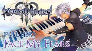 🎵 KINGDOM HEARTS III - Face My Fears (Utada Hikaru) ~ FULL Piano Cover!