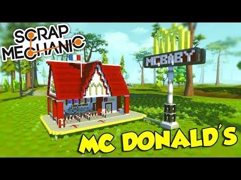 Scrap Mechanic ITA - Il nostro Mc Donald's personale!