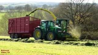 Silage '13 - Lifting the Stuff - John Deere Fest!