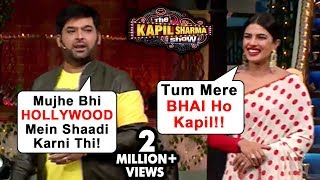 Priyanka Chopra FULL On MASTI With Kapil Sharma On Marriage | The Kapil Sharma Show The Sky Is Pink