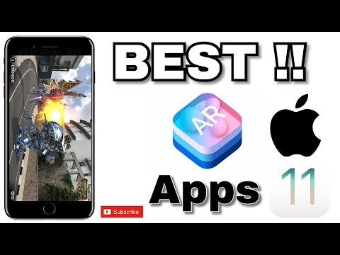 BEST!! AR Game Apps For iOS 11 (Augmented Reality) 2017 !!!