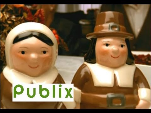 a publix pilgrim thanksgiving youtube - Publix Christmas Commercial