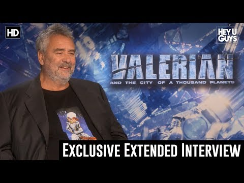 Special Extended Interview with Director Luc Besson - Valerian and the City of a Thousand Planets