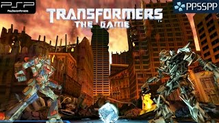 Transformers: The Game - PSP Gameplay 1080p (PPSSPP)