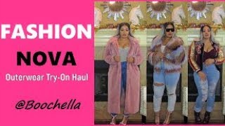FashionNOVA Outerwear Try-On Haul   Boochella
