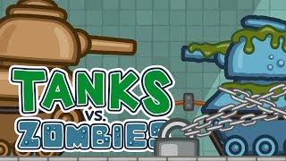 Танки против Зомби №13: Судьба монстра | Мультик про танки