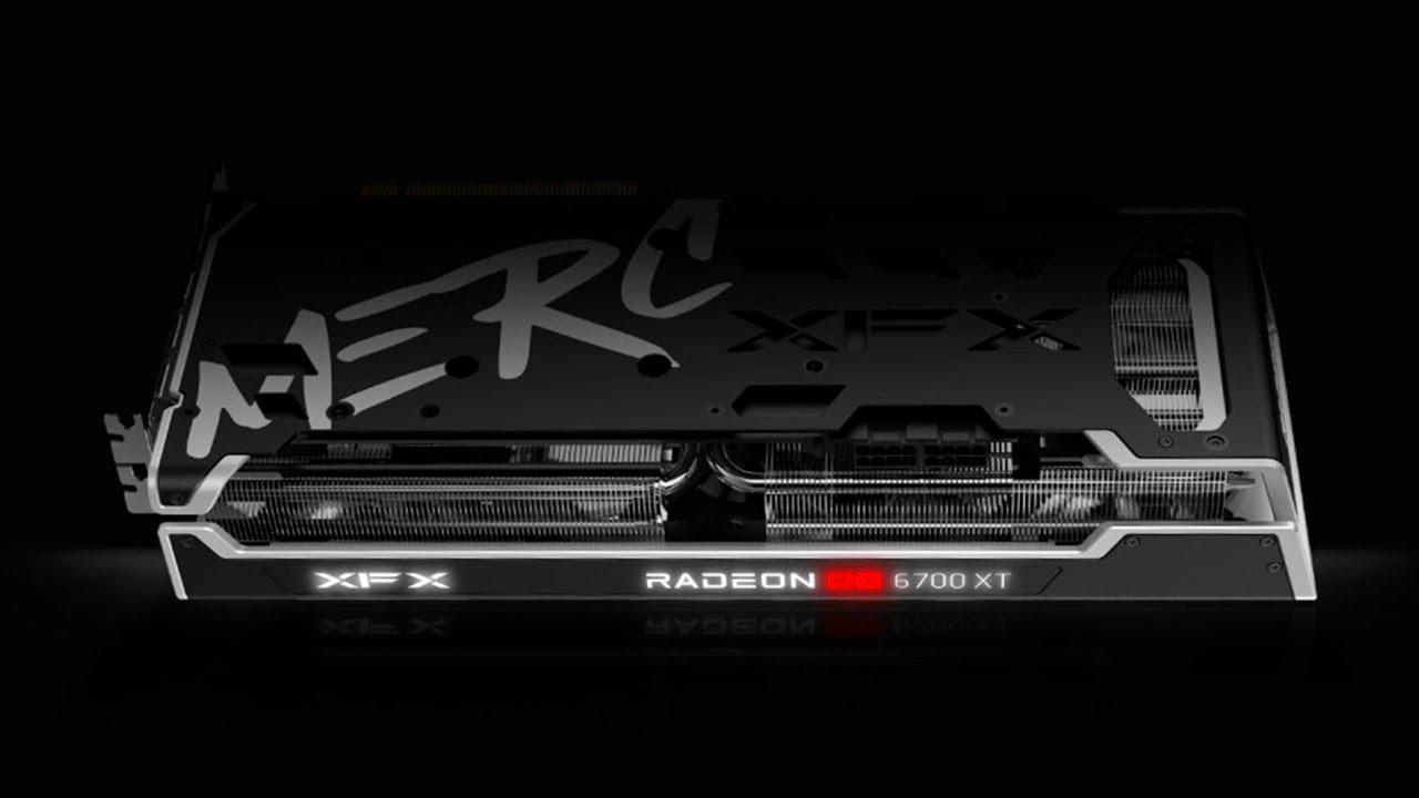 오랜만에 멋있는 라데온 그래픽카드 하나 보여드릴게요 | XFX RX 6700 XT MERC 319