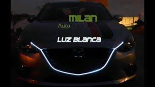 MAZDA - Instalación de tira led en parrilla de la nueva serie de Mazda 2014 2017