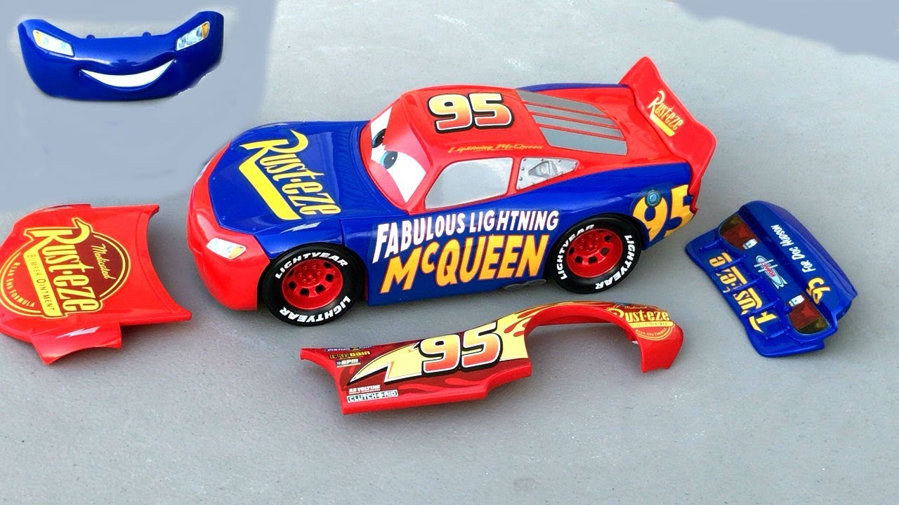 Disney Cars Toys Lightning Rayo McQueen