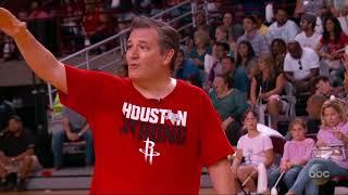 Jimmy Kimmel vs Ted Cruz Blobfish Basketball HIGHLIGHTS