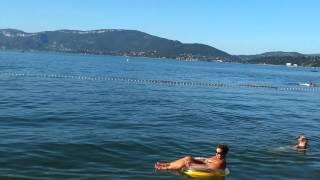 Lac du bourget plage camping ile aux cygnes