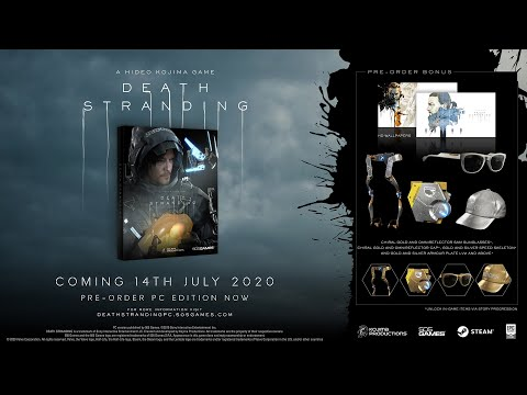 DEATH STRANDING - PC Release Date Trailer