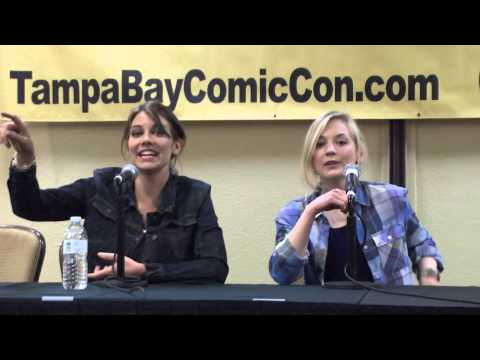 The Walking Dead Panel Featuring Emily Kinney & Lauren Cohan