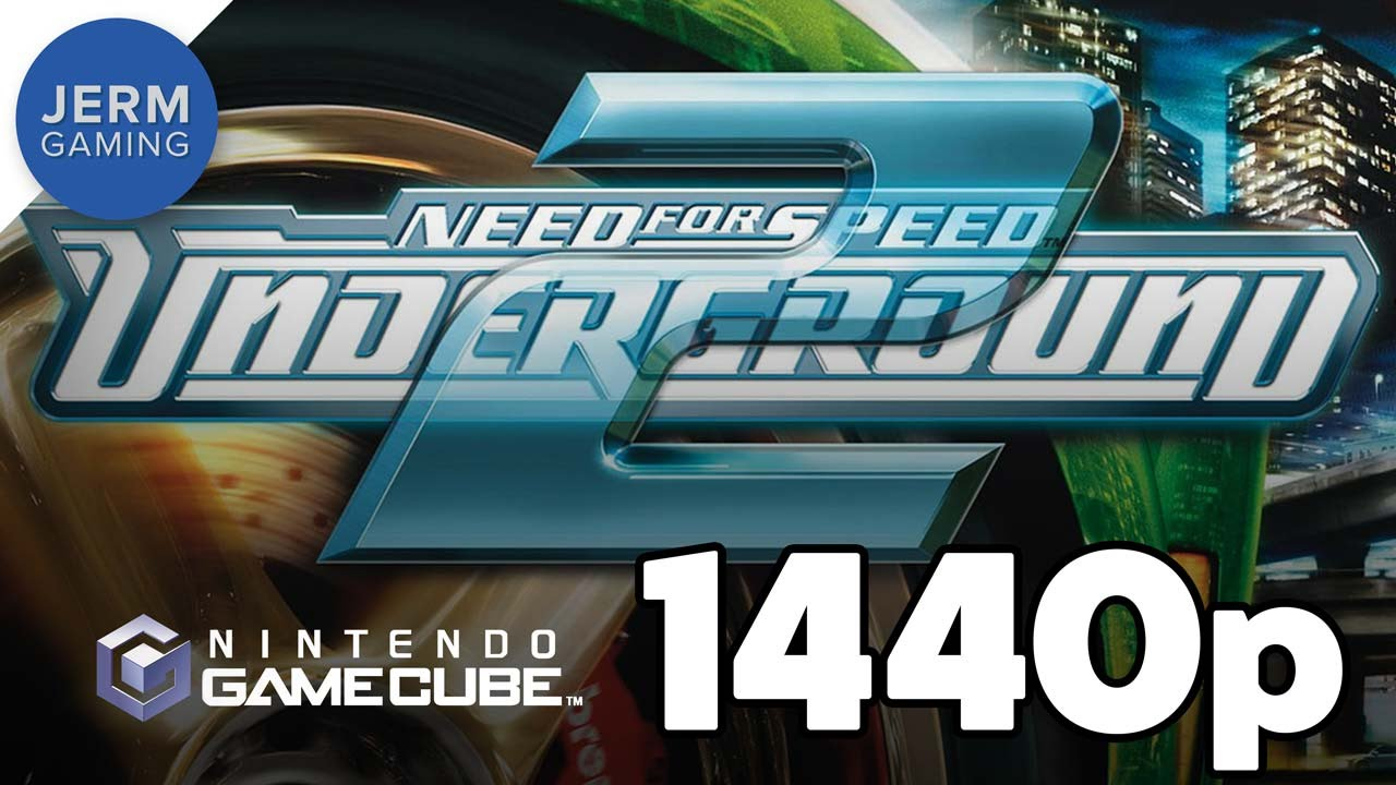Need for Speed Underground 2 at 1440p on Dolphin Emulator 5 0