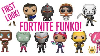 FORTNITE FUNKO POP FIGURES! ALL FORTNITE BATTLE ROYALE FUNKO POPS REVELAED!