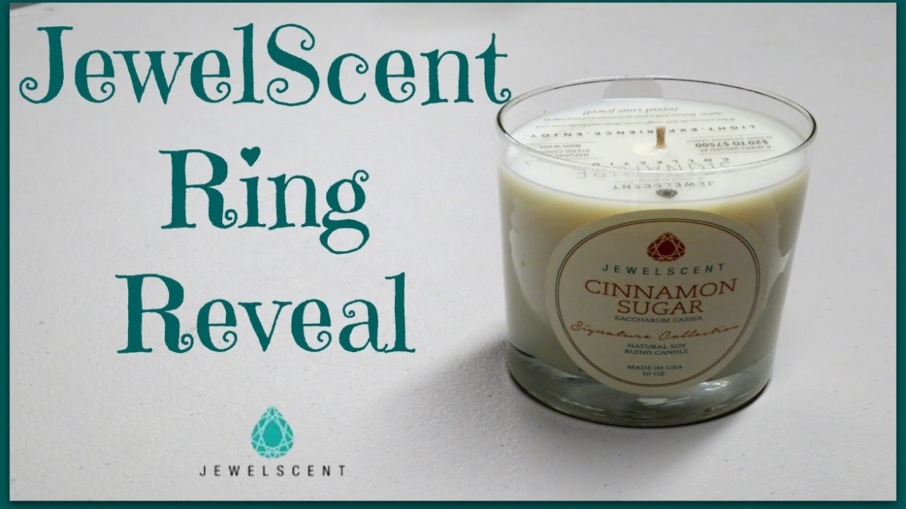Jewelry In Candles Ring Reveal