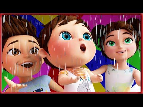 Rain Rain Go Away   Nursery Rhymes   Kids Songs   Banana Cartoon Song [HD]