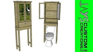 Sketchup - Toilet Cabinet - 109