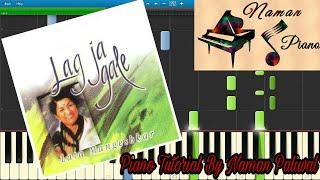 Lag Jaa Gale Piano(Tutorial+MIDI+Music Sheet)