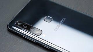 Ein Smartphone - 4 Kameras: Das Samsung Galaxy A9 im Test