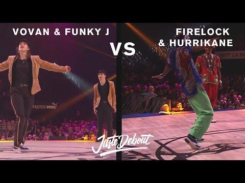 FireLock & Hurrikane vs Vovan & Funky J - Juste Debout 2017