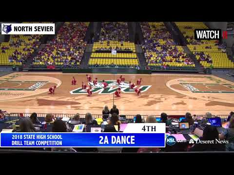 2A North Sevier High School UHSAA Drill Team 2018
