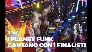 I Planet Funk cantano con i Finalisti di The Voice of Italy 2019