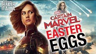 CAPTAIN MARVEL | Gli EASTER EGGS nascosti nel Teaser Trailer Italiano