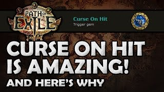 Path of Exile Why Curse on Hit is Amazing Support Gem Analysis