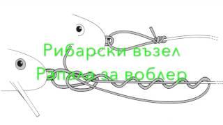 Рибарски възел Рапала за воблер