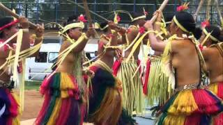 Yap Traditional Stick Dance Performance ヤップ島 検索動画 18