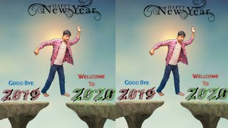 Picsart Happy New Year Editing Tutorial 2020 Happy New Year Special Edit By Picsart