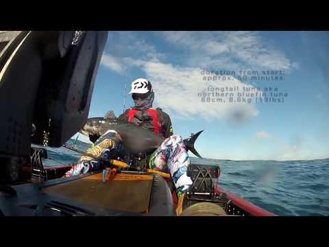 Caloundra Tuna - Kayak Fishing