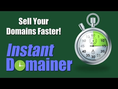 Instant Domainer - Domain Flipping - Sell Your Domains