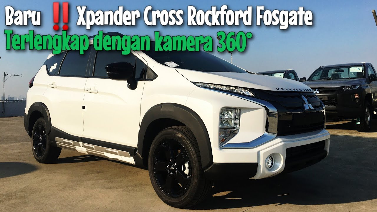 Baru‼️Review Mitsubishi Xpander Cross Rockford Fosgate Black Edition Warna Putih Tahun 2021
