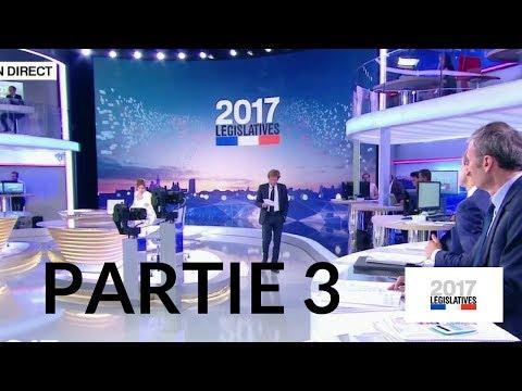 Premier tour des élections législatives – 11 juin 2017 (France 2) – Partie 3