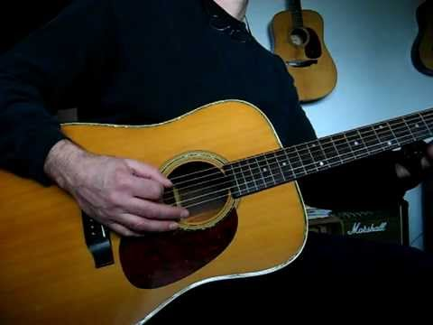 Old Washburn D-25 Acoustic Japan - YouTube