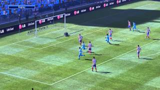 PES 2015...Man City vs Ath Mad /1080/60fps/Fully Modded