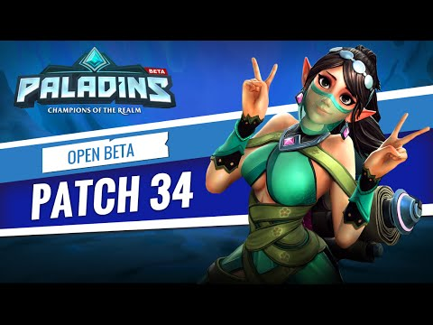 Paladins - Open Beta 34 Patch Overview